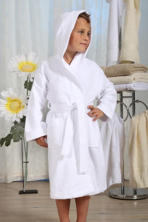 Frottír kapucnis gyermek köntös - Cotton Home f05d81382d