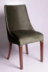 Oval szék (mohazöld)