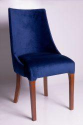 Oval szék (kék)