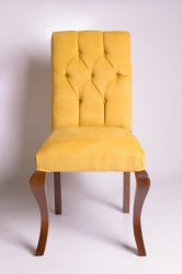 Barokk szék (sárga)