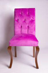Barokk szék (lila)