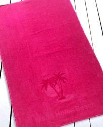 Mado Home Beach Törölköző (pink) 100x150cm