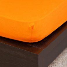 NATURTEX gumis jersey lepedő - narancssárga - 100x200cm