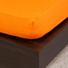 NATURTEX gumis jersey lepedő - narancssárga - 200x200cm