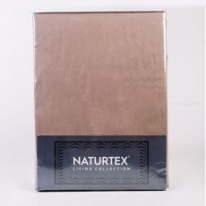Naturtex - RICCIO pamut-szatén ágyneműhuzat - középbarna - 3 részes