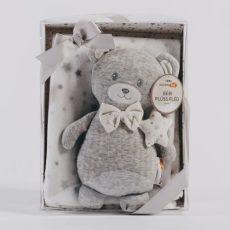 NATURTEX Baby Pléd Szürke Macival 100x75 cm