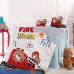 Bear gyermek ágyneműhuzat - pamut