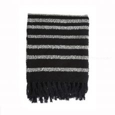 Beddinghouse KAAT Amsterdam Pléd HONSHU Throw Black