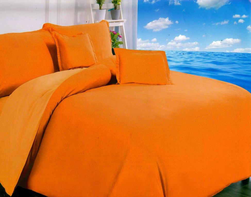 Kétoldalas (narancs) ágyneműhuzat 3 részes - Cotton Home 4410cf4993