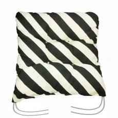 Ülőpárna - megkötős - Zebra