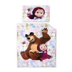 MÁSA ÉS A MEDVE - rózsaszín - gyermek ágyneműhuzat - Cotton Home f8c63fe168