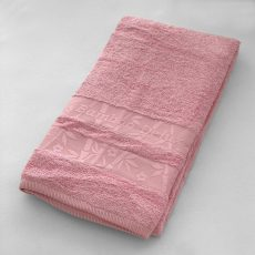 BAMBOO ORGANIC törölköző (rózsaszín) 70x140 cm