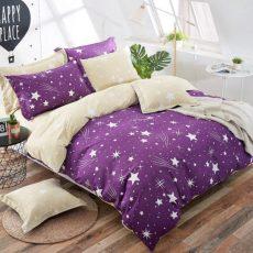 STARS 7 részes ágyneműhuzat - LILA