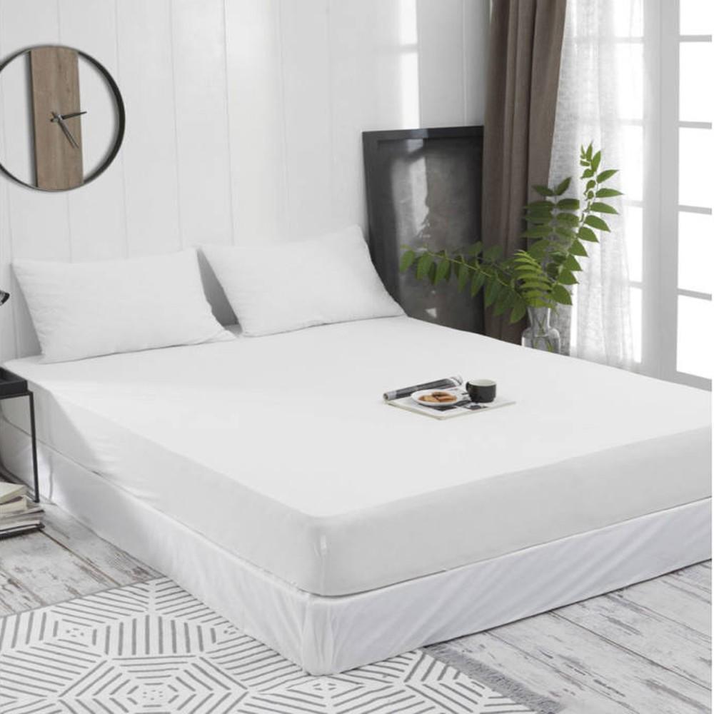 Gumis lepedő 180x200 cm (fehér) - Cotton Home f288e8d1ea