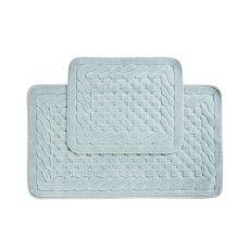 INCI fürdőszobaszőnyeg szett - kék