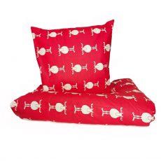 Mia mhm¿  Rudolf - Red  - gyermek ágyneműhuzat - 100% PAMUT