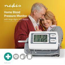 Nedis BLPR110WT Digitális felkaros vérnyomásmérő