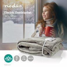 Nedis Elektromos felsőtakaró, ágymelegítő - szürke (PEBL140CWT)