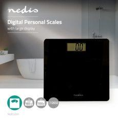 Nedis PESC111DBK digitális személymérleg - Fekete