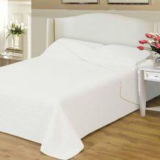 NATURTEX CLARA steppelt ágytakaró - fehér