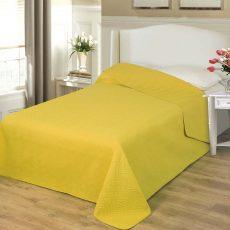 NATURTEX EMILY ágytakaró - mustársárga - 235x250 cm