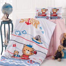 SAILOR gyermek ágyneműhuzat - pamut