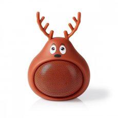 Nedis Animaticks Bluetooth Hangsugárzó | 3 órányi lejátszási idő | Kihangosított hívás | Rudy Reindeer
