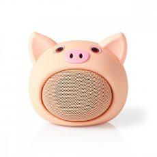Nedis Animaticks Bluetooth Hangsugárzó | 3 órányi lejátszási idő | Kihangosított hívás | Pinky Pig