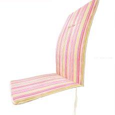 Székpárna - magastámlás - rózsaszín csíkos