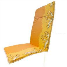 Székpárna - magastámlás - sárga