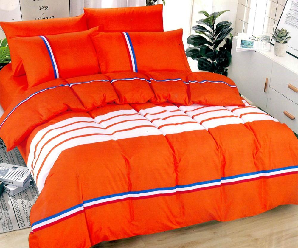 STRIPE-narancssárga ágyneműhuzat - 7 részes - Cotton Home 977a549d65