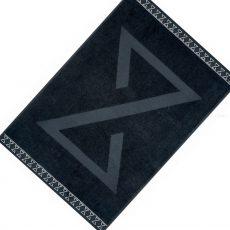 Exclusive Strandlepedő - fekete - 100x150 cm