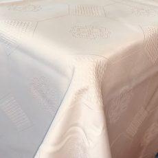 Mintás - szennytaszító -asztalterítő - VAJSZÍN