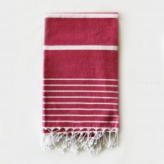 HAMAM strandlepedő - 170x100 cm - pink