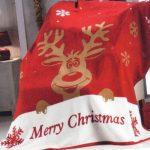 NATURTEX - Rudolf karácsonyi pléd