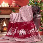 NATURTEX Home Christmas pléd